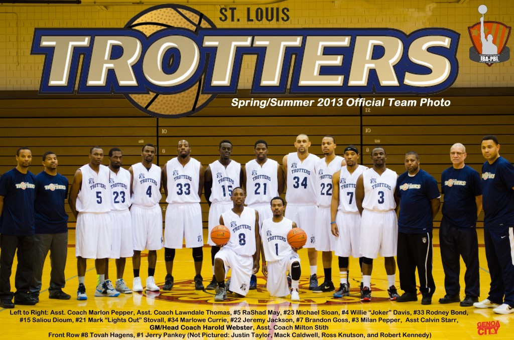 St. Louis Trotters Official Team Pic