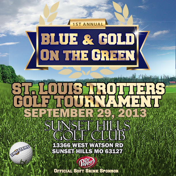 Blue & Gold on the Green
